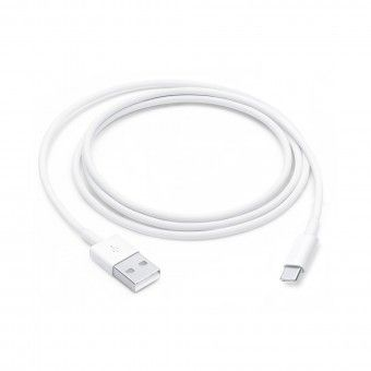 White USB cable x 1m TipoC