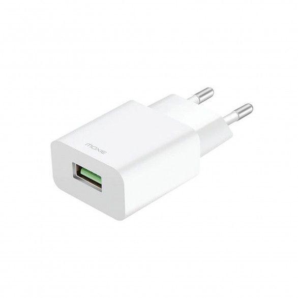 Carregador Branco USB 18W