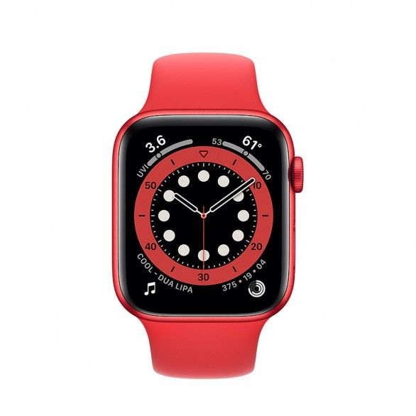 Watch series 6 GPS 44mm Red
