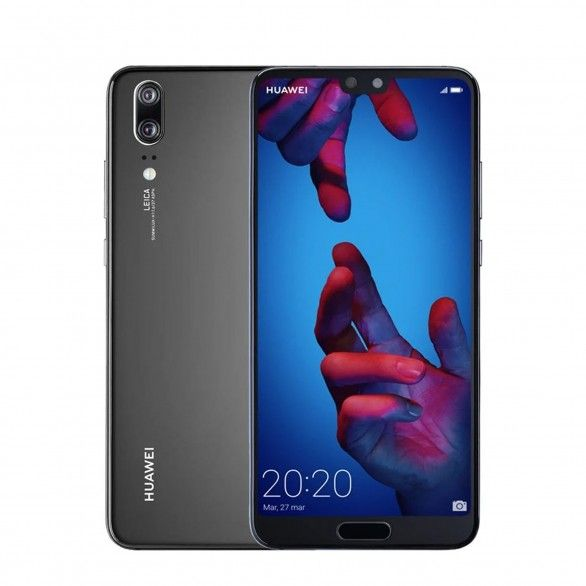 Huawei P20 4GB 128GB Preto
