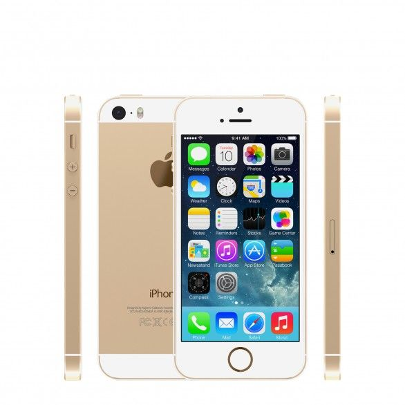 Apple iPhone 5s falha touch ID 1GB 16GB Dourado