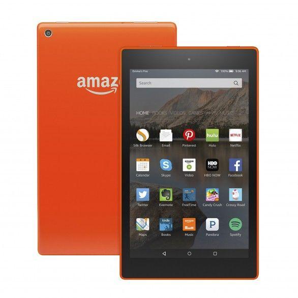 "Kindle Fire HD 8 8 ""8GB Tangerine"