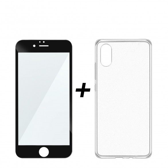 Total Protection Kit iPhone 8 Plus Open Box Transparent Mobile