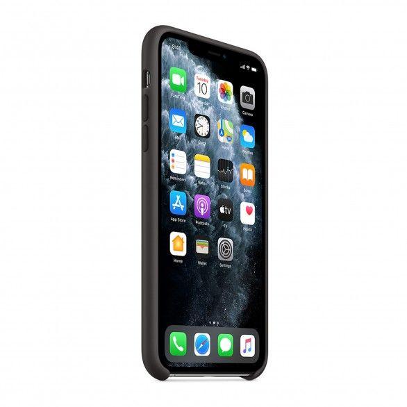 Capa silicone Preto iPhone 11 Pro Max