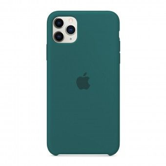 Green silicone cover iPhone 11 Pro Max