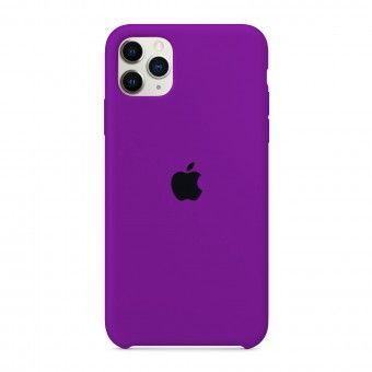 Silicone Cover Purple iPhone Pro Max 11