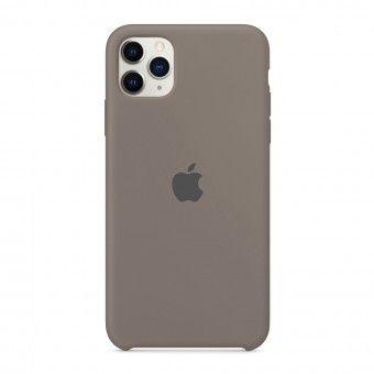 Capa silicone Cinzento iPhone 11 Pro Max