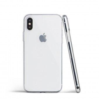Capa silicone Transparente iPhone XS