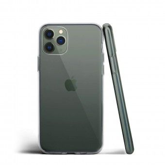 silicone cover Transparent iPhone Pro 11