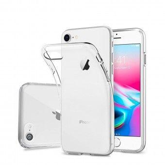 Capa silicone Transparente iPhone 8