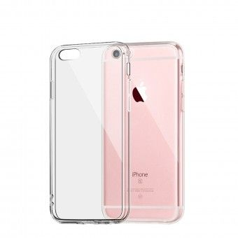 silicone cover Transparent iPhone 6s