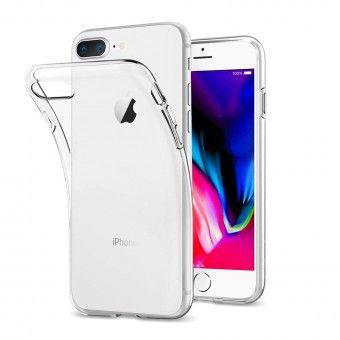 Capa silicone Transparente iPhone 8 Plus