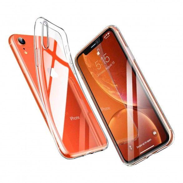 Capa silicone Transparente iPhone XR