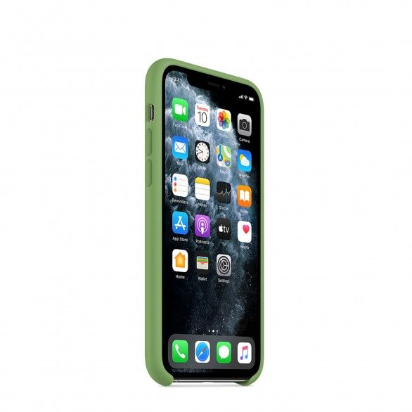 Capa silicone Verde claro iPhone 11 Pro