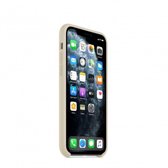 Capa silicone Bege iPhone 11 Pro