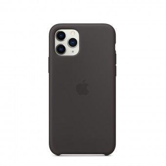 Silicone Cover Black iPhone Pro 11