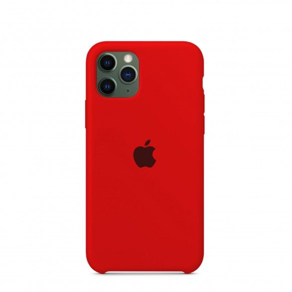 Capa silicone Vermelho iPhone 11 Pro