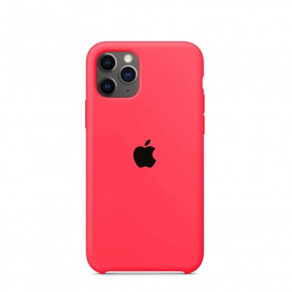 Capa silicone Rosa iPhone 11 Pro