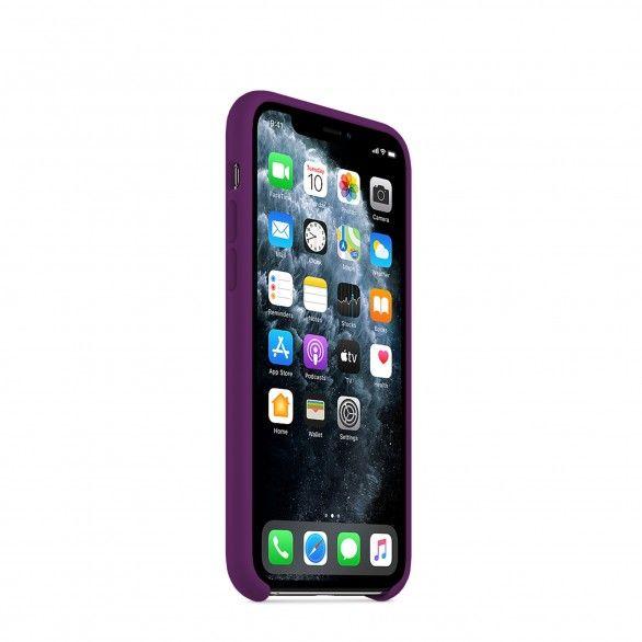 Capa silicone Roxo iPhone 11 Pro