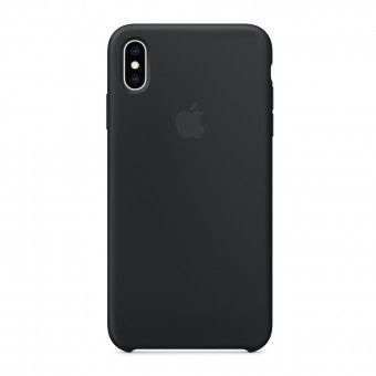 Silicone Cover Black iPhone XS Max