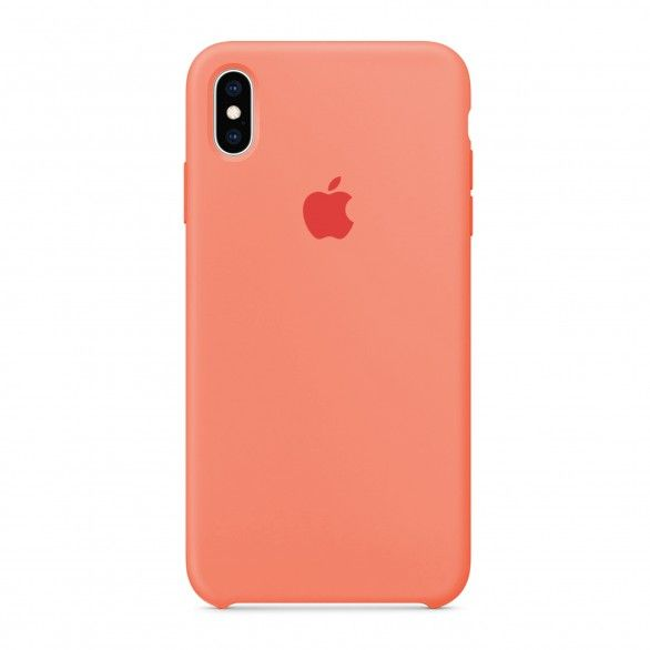 Capa silicone Coral iPhone XS Max