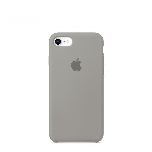 Capa silicone Cinzento iPhone 7
