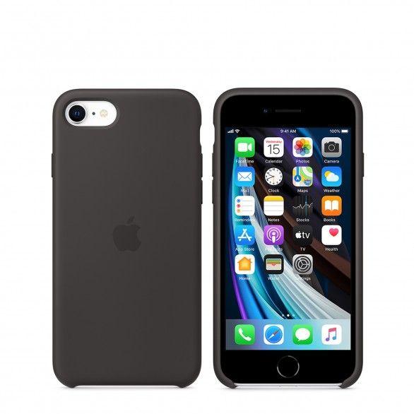 Capa silicone Preto iPhone 7