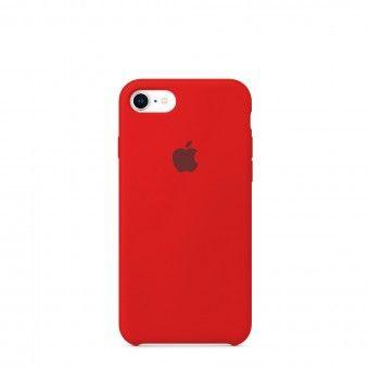 Capa silicone Vermelho iPhone 7