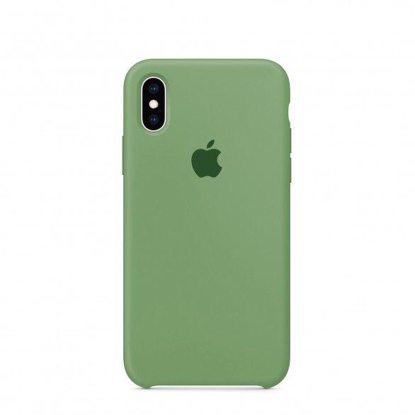 Capa silicone Verde claro iPhone X