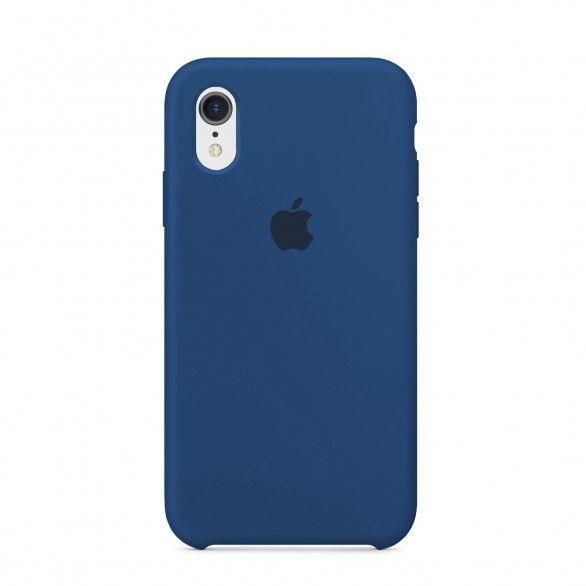 Capa silicone Azul iPhone XR