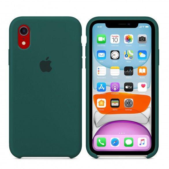 Capa silicone Verde iPhone XR
