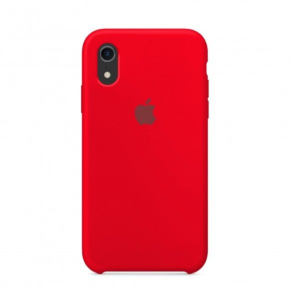 Capa silicone Vermelho iPhone XR