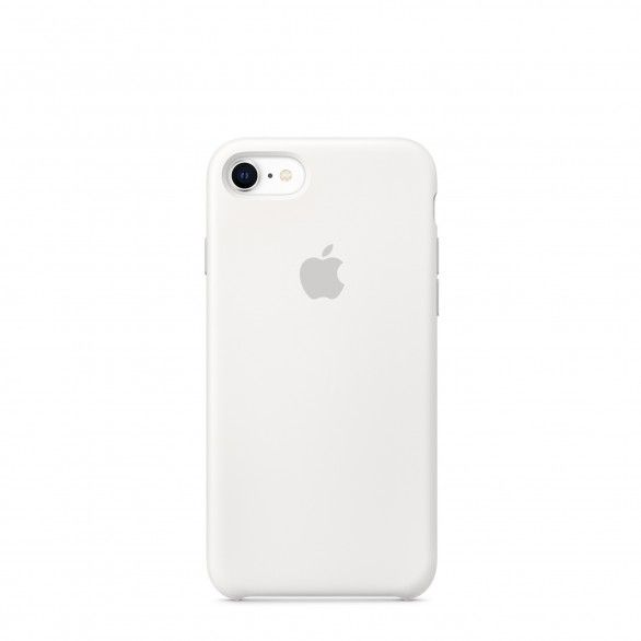 Capa silicone Branco iPhone 8