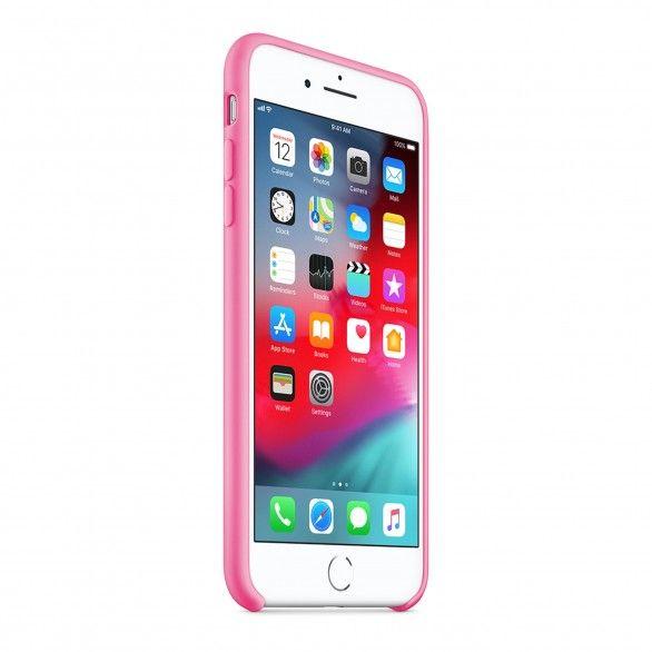 Capa silicone Rosa iPhone 7 Plus