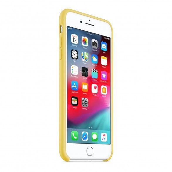 Capa silicone Amarelo iPhone 8 Plus