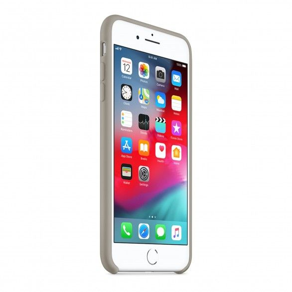 Capa silicone Cinzento iPhone 8 Plus