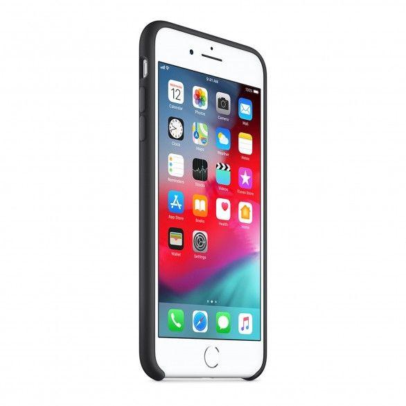 Capa silicone Preto iPhone 8 Plus