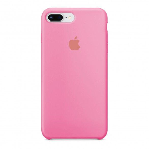 Capa silicone Rosa iPhone 8 Plus