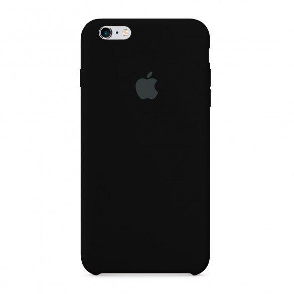 Capa silicone Preto iPhone 6s Plus