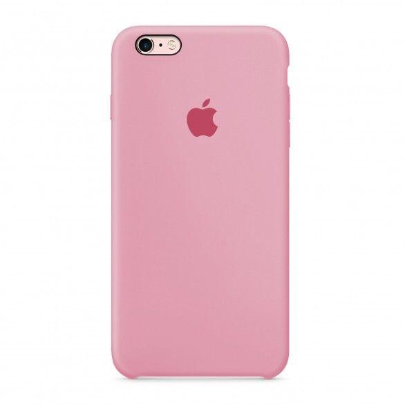 Capa silicone Rosa iPhone 6 Plus