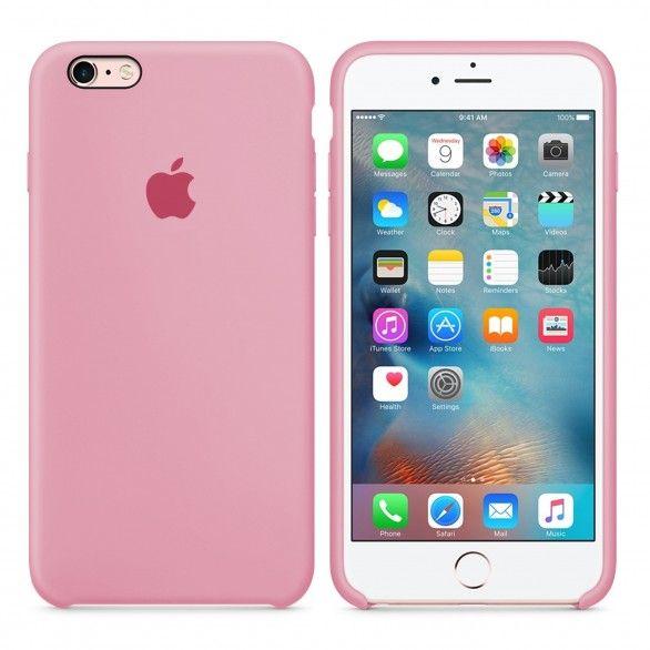 Capa silicone Rosa iPhone 6s Plus