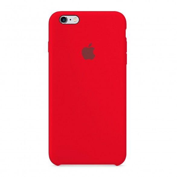 Capa silicone Vermelho iPhone 6 Plus