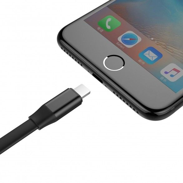 2 in 1 Portable Cable LightningMicroUSB Cabo