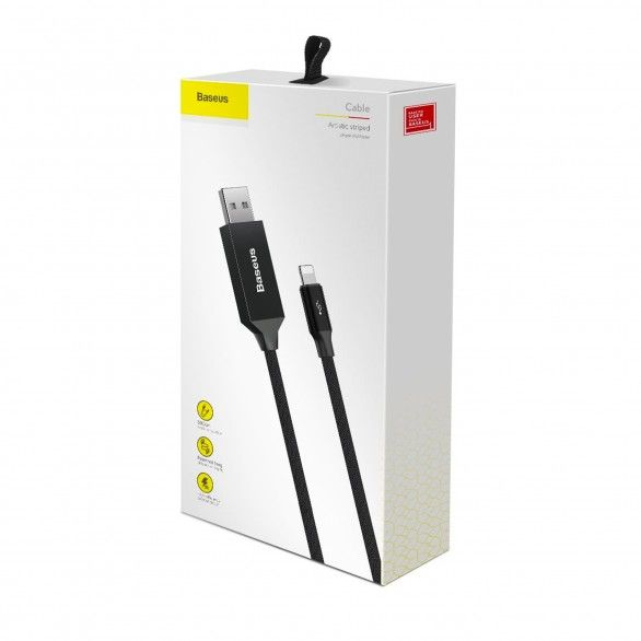 Artistic Striped 5M Lightning Cable