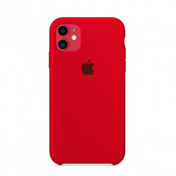Capa silicone Vermelho iPhone 11