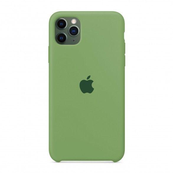 Capa silicone Verde claro iPhone 11 Pro Max