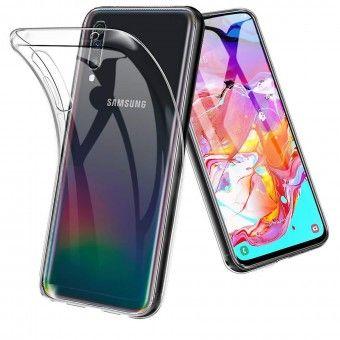 Samsung A70 silicone cover