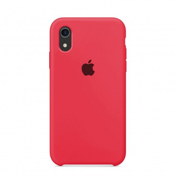 Capa silicone Rosa iPhone XR