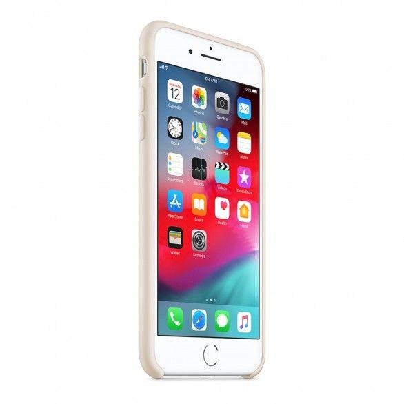 Capa silicone Bege iPhone 8 Plus