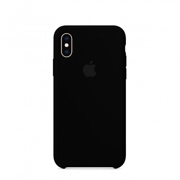 Capa silicone Preto iPhone X